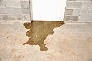 sewer backup water damage underneath door | DryCare Restoration | Best Water Fire Mold Damage Restoration and Crime Scene Cleanup, Los Angeles Ventura Orange County