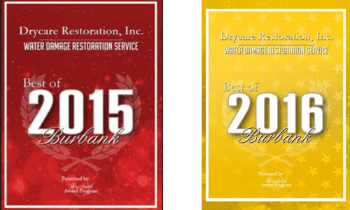 best water damage restoration service of 2015 and 2016 in Burbank | DryCare Restoration | Best Water Fire Mold Damage Restoration and Crime Scene Cleanup, Los Angeles Ventura Orange County