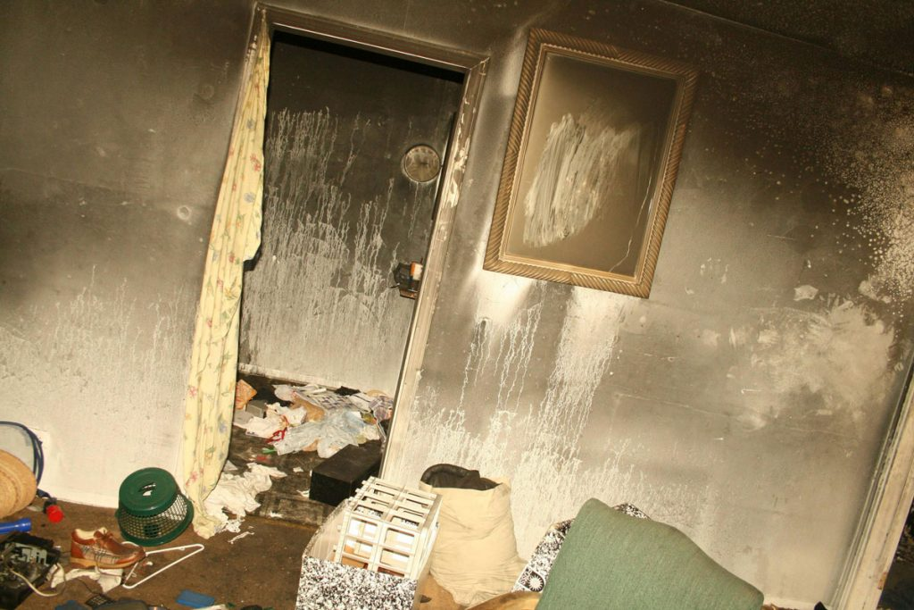 soot damage service in Los Angeles