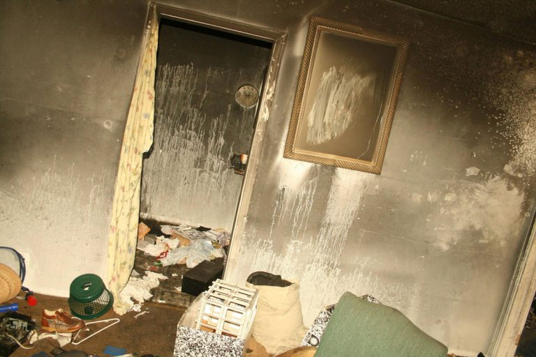 soot smoke and fire ash damage inside a house | DryCare Restoration | Best Water Fire Mold Damage Restoration and Crime Scene Cleanup, Los Angeles Ventura Orange County