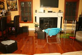 flooded living room water damage | DryCare Restoration | Best Water Fire Mold Damage Restoration and Crime Scene Cleanup, Los Angeles Ventura Orange County