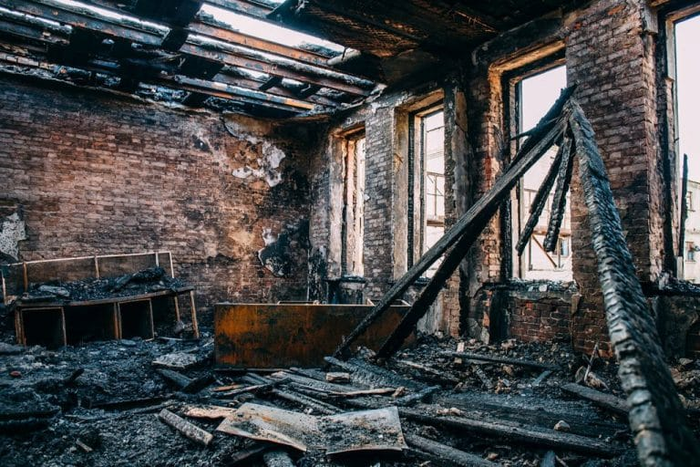 flood and fire damage inside a house   DryCare Restoration   Best Water Fire Mold Damage Restoration and Crime Scene Cleanup in Southern California